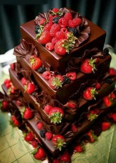Strawberry/Chocolate Dream Cake