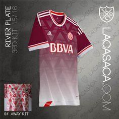 Adidas Most Terrible Kits Reinterpreted by La Casaca | #RiverPlate 2