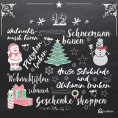 Weihnachts To-Dos