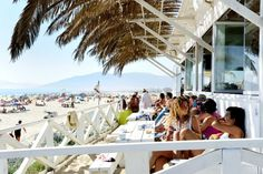 El 'beach club' Bienstar Tarifa