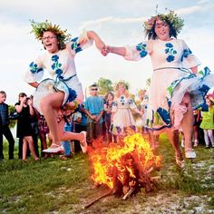 Image result for swedish summer traditions