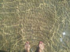 voetjes in de zee