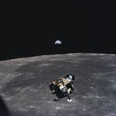 This photo was taken by astronaut Michael Collins, when he took this photo he was the only human, alive or dead, that wasn't in the frame of...