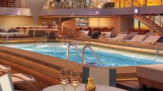 Seabourn's new cruise ship - Encore. She's a beauty! #legatotravelhttp://usat.ly/1zj4XFw