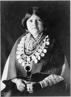 Zuni Ornaments,1903. Edward Sheriff Curtis Photography