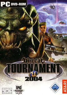 Unreal Tournament 2004 Download Cover Free Game