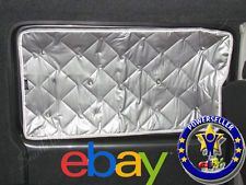 VW Transporter T5 Silver Window Foil Thermal Screen blind for N/S sliding door