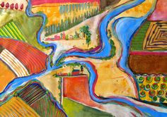 Jill Berry is a favorite of mine. This fun landscape deserves to be pinned!