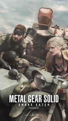 Eva (Big Mama) y Naked Snake - Metal Gear Solid Snake Eater Metal Gear 3, Snake Metal Gear, Metal Gear Games, Metal Gear Solid Series, Metal Gear Rising, Cry Anime, Anime Art, Meryl Mgs, Mgs V