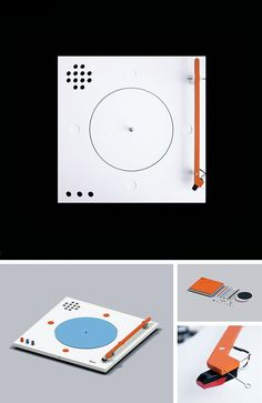 Styrofoam Turntable - Teenage Engineering. Slick design, compact and light. What more do you need?