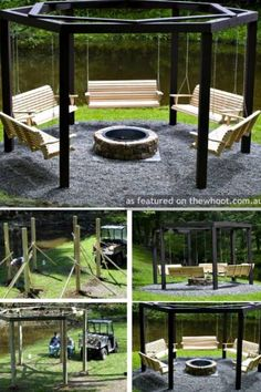 DIY Backyard FirePit & More.