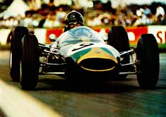 Dan Gurney in a Brabham Coventry-Climax. 1964.