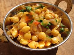 Cicer na cibulke Garam Masala, Potato Salad, Macaroni And Cheese, Potatoes, Indie, Cooking, Ethnic Recipes, Food, Diet