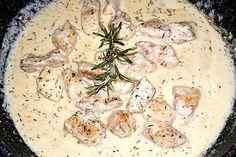Mediterrane Hühnerbrust in Knoblauch - Sauce