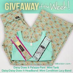 Win Palazzo Pant, Tank, Headband & Lacy Band!