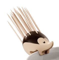 — Charming Hedgehog-Shaped Toothpick Holder by...