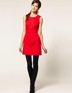 Cute Red 60s Dress