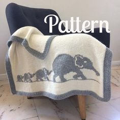 his blanket is the ideal gift for baby! Its size is perfect to wrap baby up from birth to his first years. Material : - Needles S8/UK6/5mm - Wool used for this model: 8 skeins of Drops « Nepal» Natural 0100 (ap. 75 m (82 yds) /skein) but you can use any Aran/Worsted yarn (10 ply)