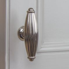 Fluted Cabinet Hardware T-Knob – Satin Nickel (Available in packs of 50 or Kitchen Cabinet Hardware, Kitchen Cabinets, Stock Cabinets, High Fashion Home, Knobs And Pulls, Flute, Door Handles, Home Improvement, Cleaning