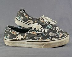 c9eec35703 STAR WARS VANS OFF THE WALL RARE HOTH PRINT MENS 9.5 womens 11 #fashion #