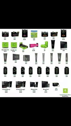 Every ItWorks! Product along with it's retail price and loyal customer price!!  http://flawless40.wix.com/itworks