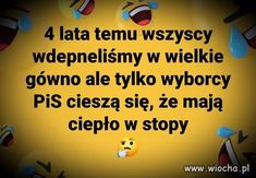 Wiocha.pl - absurdy internetu Weekend Humor, Why So Serious, Motto, Sentences, Politics, Lol, Motivation, Memes, Funny