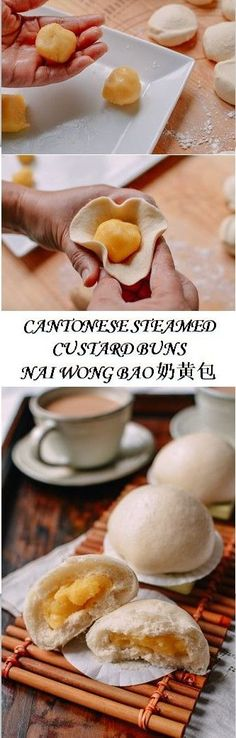 Cantonese Steamed Custard Buns recipe by the Woks of Life