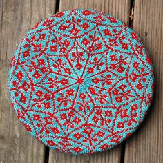 Selbu Modern - I've made this was my first fair isle and it was so much fun!! Love these colours this knitter used...a free pattern too