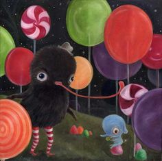 The Art of Wibble: Soft and Fuzzy Johnson in the Lollipop Forest
