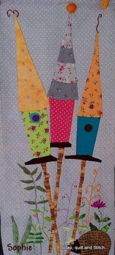 Scrap,quilt and stitch