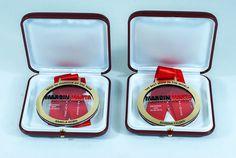 Medale pamiątkowe w pudełku