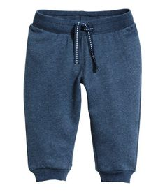 Sweatpants | Mørk blåmelert | Barn | H&M NO