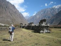 The holy place at Tsum Valley  http://www.nepalmotherhousetreks.com/manslu-trekking-with-nar-phu-valley.html