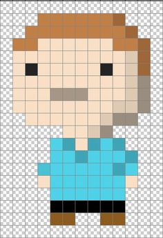Create a Pixel Art bitizen using Photoshop.