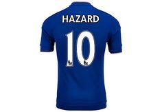 fdfe42cc704 adidas Eden Hazard Chelsea Authentic Home Jersey 2015-16...shop www.