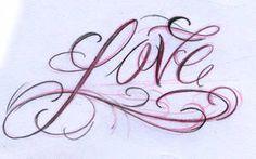 daily script 1 love by joshdixart Tattoo Script Love Tattoo Fonts Cursive, Tattoo Lettering Styles, Chicano Lettering, Graffiti Lettering Fonts, Hand Lettering Alphabet, Tattoo Design Drawings, Script Lettering, Lettering Design, Tattoo Designs