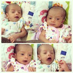 My twins #baby #twins