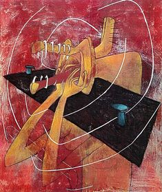 """La femme affamée"", by Roberto Matta American Art, Sale Artwork, Classic Art, Latin American Art, Painting Illustration, Metaphysical Art, Visual Art, Surrealism Painting, Figurative Artists"