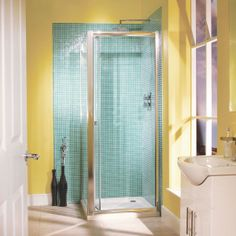This Large 1000 Aquafloe bi-fold shower door is made from thick toughened glass. This Shower Door is adjustable - making the door suitable for almost any size installation. As the door is a universal fit it is suitable for left or right Bifold Shower Door, Shower Doors, Electric Showers, Walk In Shower Enclosures, Amazing Bathrooms, Space Saving, Laundry Room, Magnetic Strips, Seals