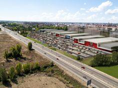 Anteproyecto de un Centro Comercial en León Buildings, Public, Shopping Center, Architecture, Interiors