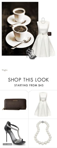 """C Is For..."" by babygurl7191 ❤ liked on Polyvore featuring MICHAEL Michael Kors, Lattori, Pleaser and Bling Jewelry"