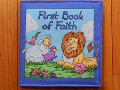 First Book of Faith Chidren's Cloth Book by CraftingByTheWayside