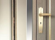 gold handle door knob interior design Nowa kolekcja drzwi - na miarę wymagań współczesności - Architektura, wnętrza, technologia, design - HomeSquare