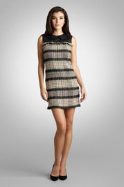 Tweed Mod Shift Dress