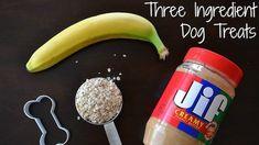 How To Make Peanut Butter And Banana Dog Treats