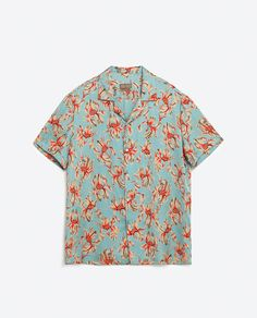 Image 8 of PRINTED FLORAL SHIRT from Zara
