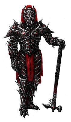 Dremora lord by Swietopelk.deviantart.com on @DeviantArt