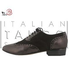 Tango shoes for men in black suede and nappa leather http://www.italiantangoshoes.com/shop/en/men/298-gabriel.html