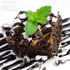 Looking for a restaurant style brownie for dessert? These peppermint patty brownies should do the trick.