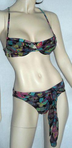 Victoria's Secret 3 Piece Bikini & Cover-Up Set SizeSmall Ships Free in the USA $22.99